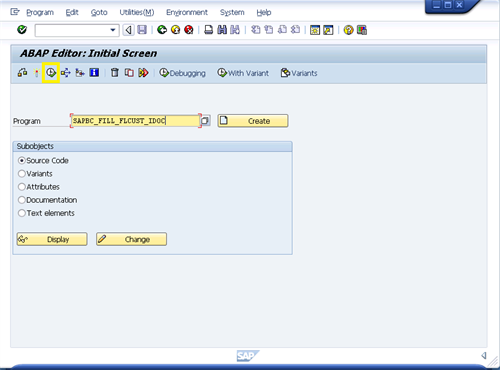 How to create your own Mini SAP Part 4: Configure the SAP Master