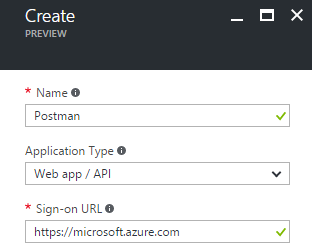 Authenticate Postman against Azure Service Management API