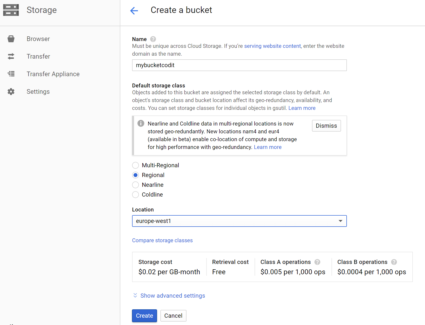 Send messages to Google Storage with Azure Functions - Picture 2