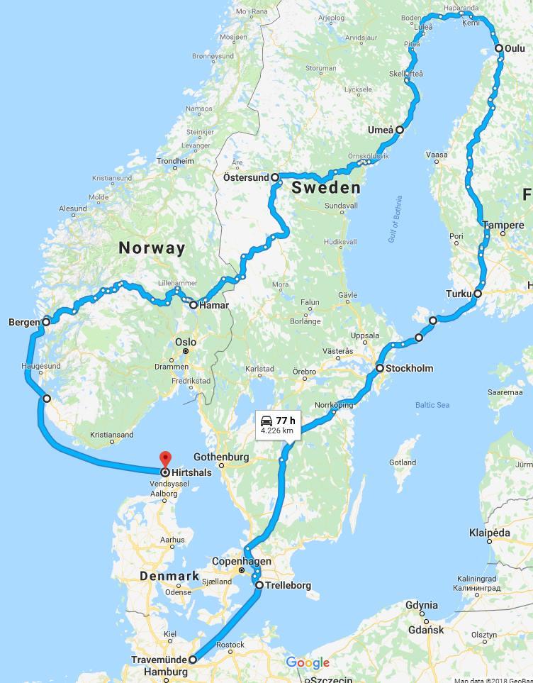 barrel challenge route Codit 2019